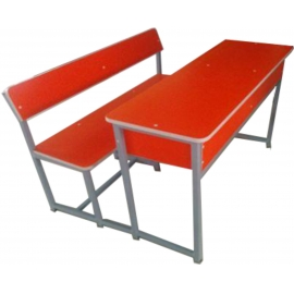 DOUBLE CLASSROOM FURNITURE(JOINTED)