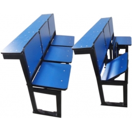 LECTURE THEATRE FURNITURE WITH FOLDABLE SEATS