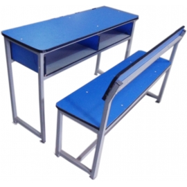DOUBLE CLASSROOM FURNITURE(DETACHED)